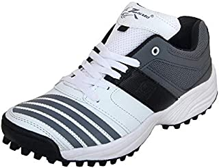 ZIGARO Z 20 Grey Rubber Cricket Shoe
