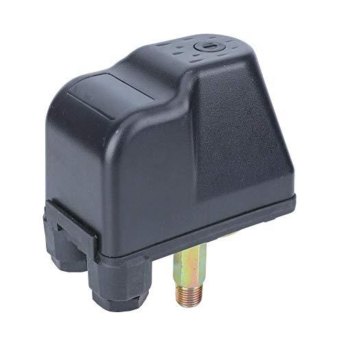 AC 250V 16A 1/4 Zoll Druckschalter, 1,4~2,8 Bar Regler Controller Blade Typ Drahtverbinder aus versiegeltem Edelstahl Parallel Bars Doppelfeder für Jet-Pumpen, automatische Pumpen, Druckpumpen