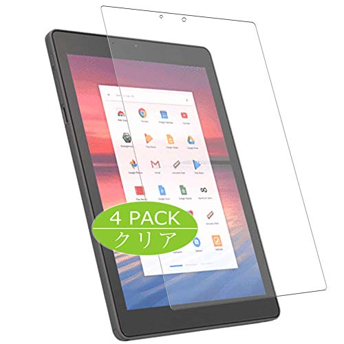 Vaxson 4-Pack Screen Protector Compatible with CTL Chromebook Tab Tx1 9.7', Ultra HD Film Protector [NOT Tempered Glass] TPU Flexible Protective Film