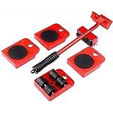 kit sollevatore mobili con piastra a ruote per spostare fino a 150 kg di peso