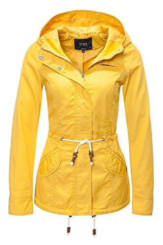 ONLY Damen Jacke Onllorca Spring Parka Jacket CC Otw, Gelb (Yolk Yellow), Gr. L