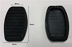 Replacement Pedal Foot Breaking Clutch Covers Pad Rubber Pair Fiat