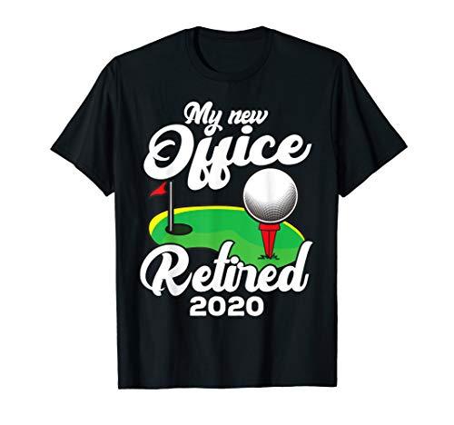 Funny Retired 2020 Golf Retirement Plan Gag Gift Golfers T-Shirt