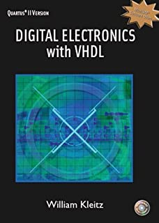 Digital Electronics with VHDL (Quartus II Version) by Kleitz, William (2005) Hardcover