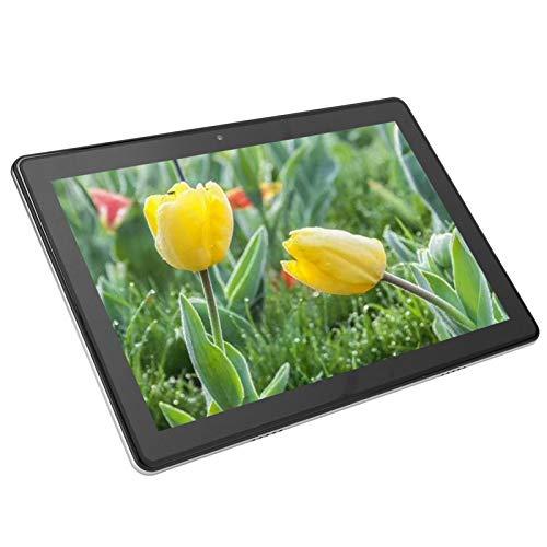 Tableta de 10 pulgadas, 2G RAM + 32G ROM 5MP + 2MP Android9.0 Tableta de ocho núcleos para llamadas telefónicas Tableta para computadora con batería de 5000mAh, soporte WiFi, Bluetooth, FM, etc.(EU)