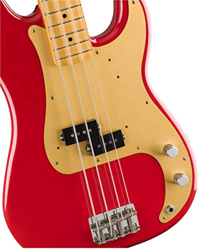 FenderエレキベースVintera'50sPrecisionBass®,MapleFingerboard,DakotaRed