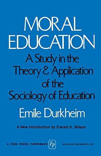 MORAL EDUCATION
