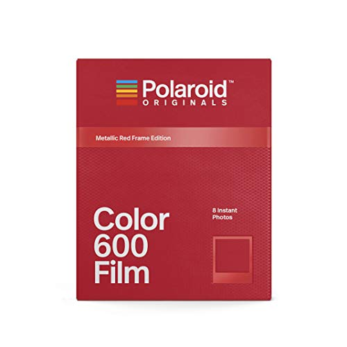 Polaroid Originals - 4858 - Farbfilm für 600 Metallic Rot Frame Edition