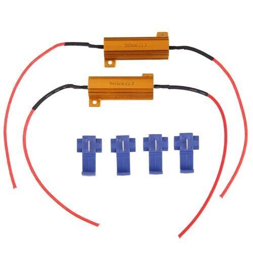 Wadoy 2X 50W Lastwiderstand Widerstand für LED SMD Blinker