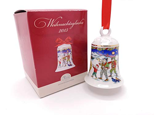 Hutschenreuther Porzellan Weihnachtsglocke 2013 in der Originalverpackung Neu 1.Wahl