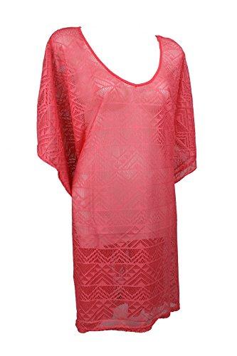 Tchibo TCM Tunika in Häkeloptik Strandkleid Strandbekleidung Sarong Kleid L