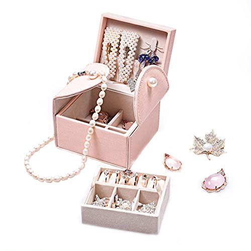 Multifunktionale Schmuckschatulle Prinzessin Schmuck Ohrringe Halskette Aufbewahrungsbox Hochzeit Geburtstag Aprilscherz Überraschungsgeschenk