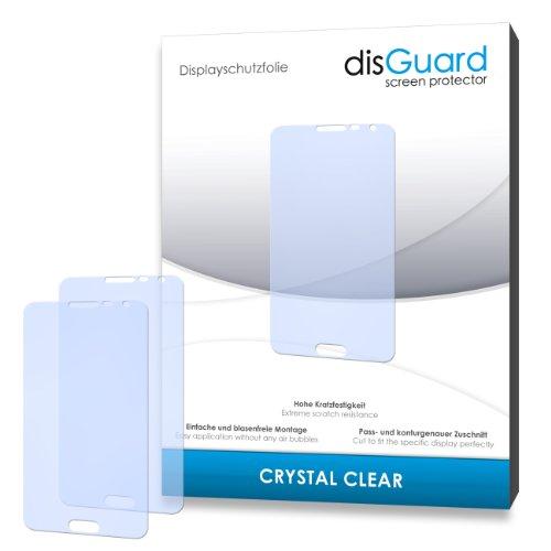 disGuard® Bildschirmschutzfolie [Crystal Clear] kompatibel mit Samsung Galaxy Note 3 Neo 3G [4 Stück] Kristallklar, Transparent, Unsichtbar, Extrem Kratzfest, Anti-Fingerabdruck - Panzerglas Folie, Schutzfolie