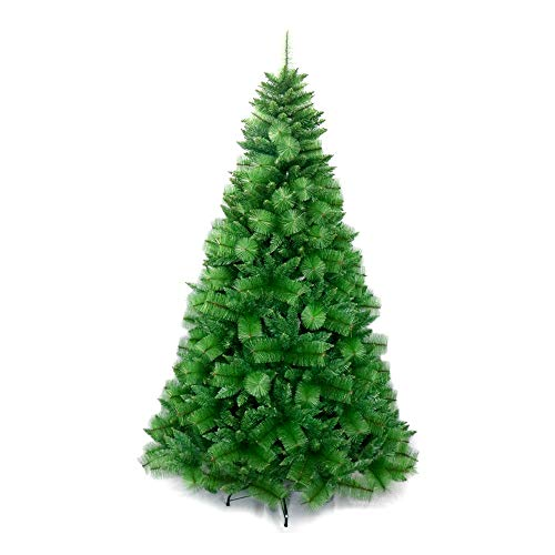 ALEKO CTG71H728 Traditional Artificial Indoor Christmas Holiday Tree 6 Foot