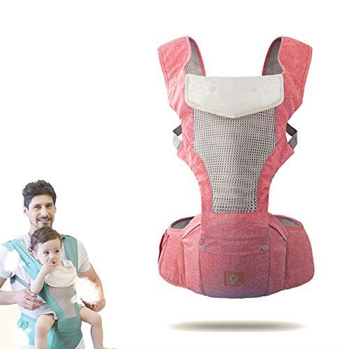 WDXIN Babytrage Bauchtrage Hüft Multifunktional Baby Taille Hocker Strap 3D Atmungsaktiv Sommer Baby Baby halten Taille Hocker,A