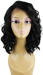 Nix & Nox 100% Human Indian Remy Swiss Lace Front Wig - Indi 100 (613 - Platinum Blonde)