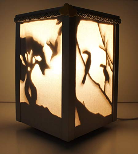 Lámpara de madera artesanal Santa Cruz de la Sierra