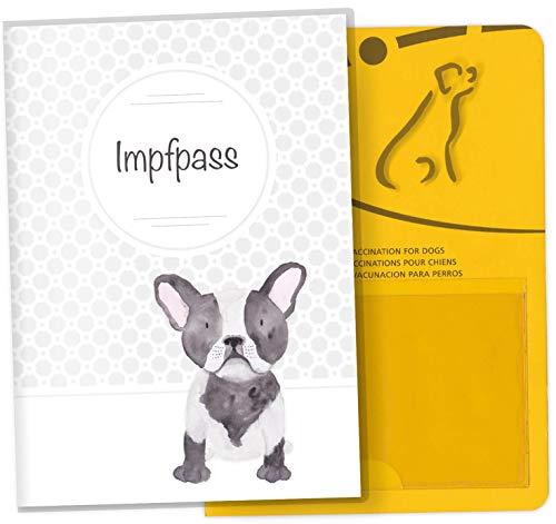 EU-kaart voor huisdieren, huisdieren, dierkaart, beschermhoes, leuk cadeau-idee, personaliseerbaar met naam en geboortedatum Impfpass für Tiere gin.