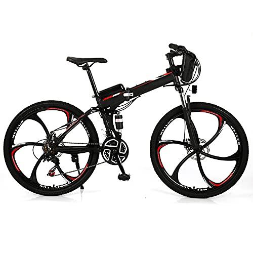 TGHY Bicicletas Eléctricas Plegables para Adultos E-Bike de 26