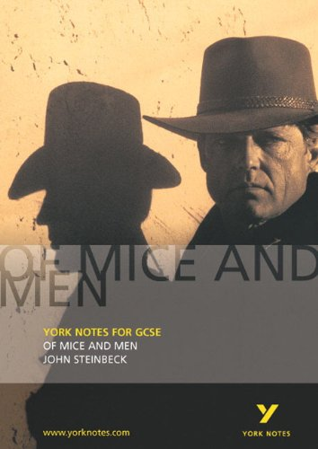 John Steinbeck \'Of Mice and Men\' (York Notes)