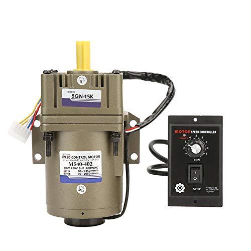 Motor de velocidad variable, motor monofásico, asíncrón, motor de corriente alternativo, regulador de velocidad para la industria del embalaje de la máquina - herramienta CA 220 V 40 W, 1.00V