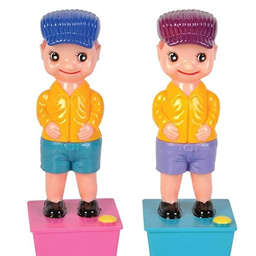 """HOWBOUTDIS 7.5"""" Squirt Wee Boy (2 Pack) The Classic Gag Toy"""