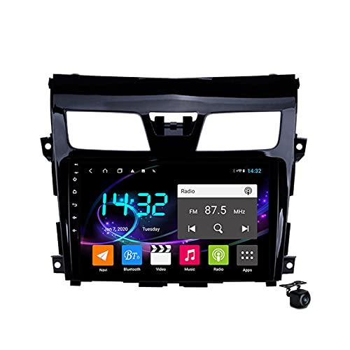Android 10.0 Coche Estéreo Radio SAT NAV para TEANA J32 2013-2017 GPS Navigation 2 DIN Head Unit 9in Multimedia Video Player Receptor FM con 4G 5G WIFI Bluetooth SWC DSP Carplay,M600s