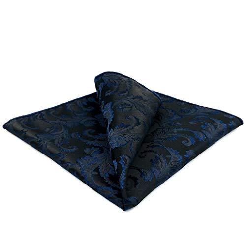 S&W SHLAX&WING Donkerblauw heren stropdas zijde bruiloft zakelijk pak zijde