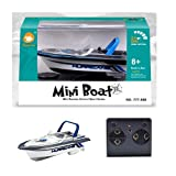 Swovo Mini Remote Control and Decorative Ship Model Boat Dual Motor High-Speed RC Boat Racing Boat Toy for Pools Lakes & Outdoor Use