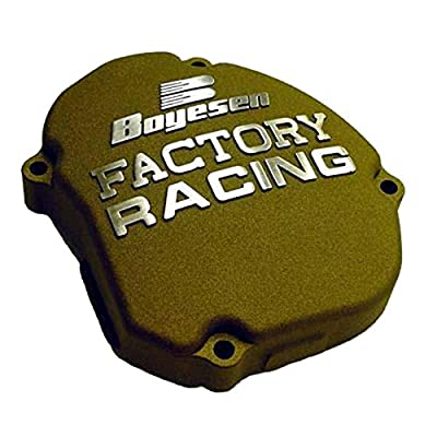 Factory Ignition Cover - Magnesium 2005-2015 Yamaha YZ125 Offroad Motorcycle