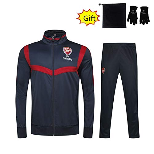 ZhaoZCL Voetbal Gift Jongens Broek Trainingspak Setjacket Ademend Sneldrogend