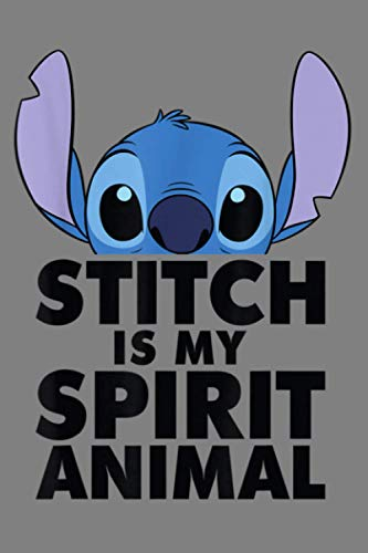 Disney Lilo And Stitch Spirit Animal: Notebook Planner - 6x9 inch Daily Planner Journal, To Do List Notebook, Daily Organizer, 114 Pages