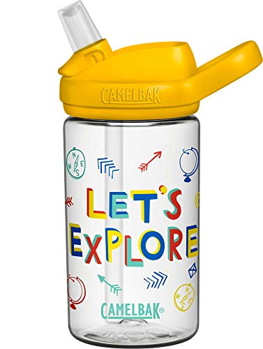 CamelBak Eddy+ Kids BPA-Free Water Bottle with Straw, 14oz (2282103040)