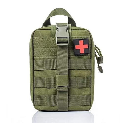 Bolsa de cinturón de la cintura Las bolsas tácticos - Herramienta de Supervivencia táctico de Molle kits de primeros auxilios Bolsa Army Medical emergencia al aire libre Caza autocaravana Militar de E