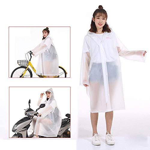 Guyuan Impermeable Femenino Adulto Estudiante de Moda de Corea Que Camina el...