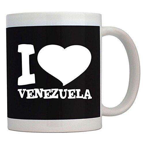 Teeburon I Love Venezuela Taza