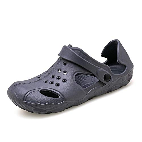 WTFYSYN Ideal para Ducha,Playa,SPA Zapatillas,Zapatos de Verano con Suela Plana, Medias Pantuflas de Colores Suaves-Gris_47,Mujeres Zapatos de Piscina Chanclas