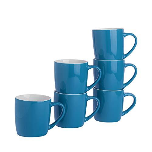 Rink Drink Argon Tableware Té Café - 6pc contemporáneo de Colores Tazas...