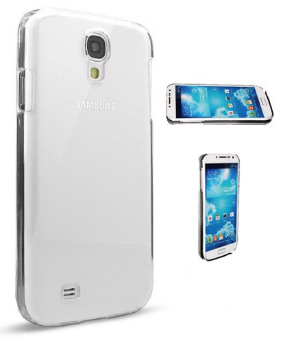 samsung galaxy s4 cases S4 Case, Samsung Galaxy S4 Case [Crystal Clear Hard Shell]- Compatible with Samsung Galaxy S4 SIV S IV i9500 - Hard Shell Cover Skin Cases by Cable and Case in Retail Package - Clear S4 Cases