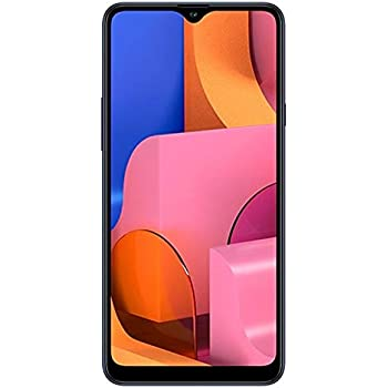"Samsung Galaxy A20S w/Triple Cameras (32GB, 3GB RAM) 6.5"" Display, Snapdragon 450, 4000mAh Battery, US & Global 4G LTE GSM Unlocked A207M/DS - International Model (Blue, 32GB + 64GB SD Bundle)"
