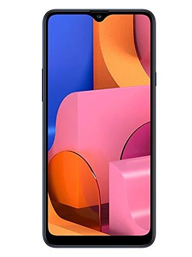 "Samsung Galaxy A20 32GB A205G/DS 6.4"" HD+ 4,000mAh Battery LTE Factory Unlocked GSM Smartphone (International Version, No Warranty) (Deep Blue)"
