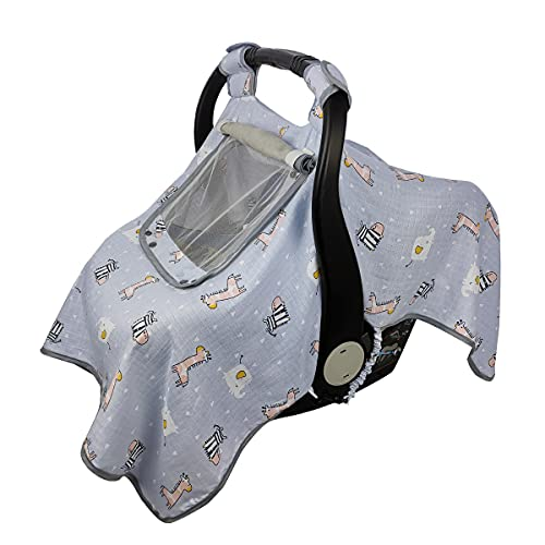 ICOPUCA Car seat Covers for Babies, Kick-Proof...
