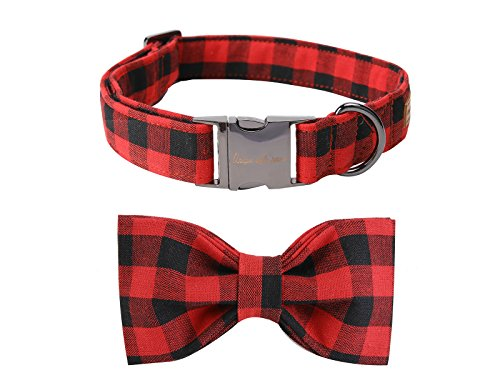 USP Pet Soft &Comfy Bowtie Dog Collar