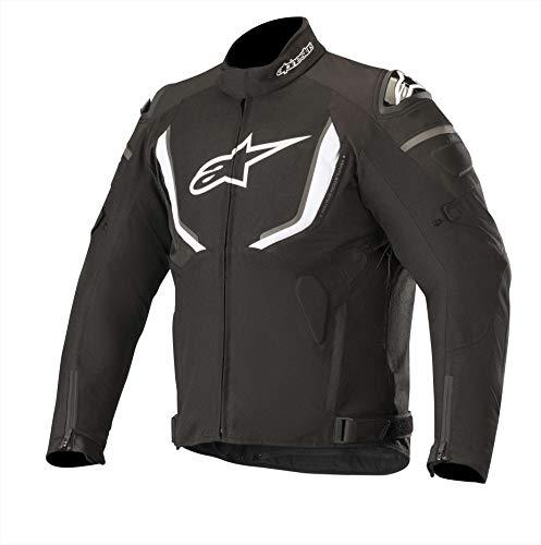 Alpinestars Motorradjacken T-gp R V2 Waterproof Jacket Schwarz Weiss, Schwarz/Weiss, XL