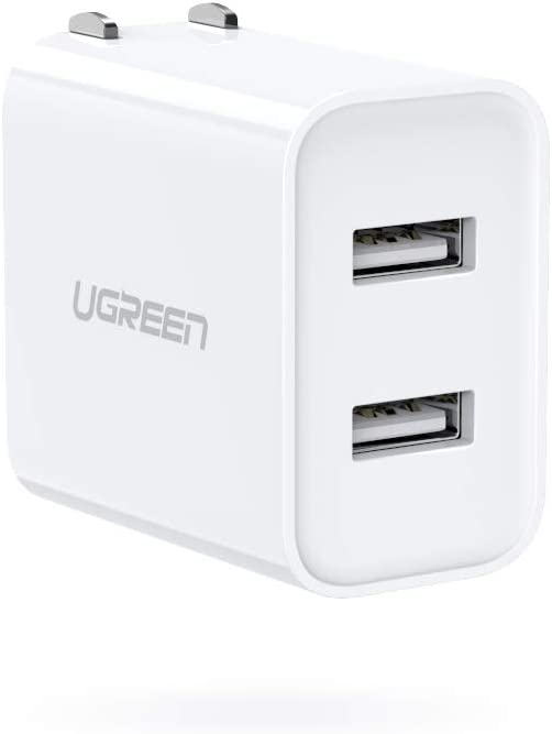 UGREEN USB Charger OFFicial shop 3.1A List price Dual Power Port wit Wall Adapter