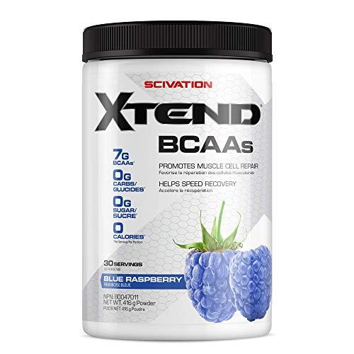 SCIVATION Xtend Bcaa Blue Raspberry 30 Servings, 453.5 g