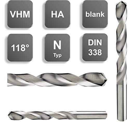VHM Bohrer, DIN 1897 / DIN 338, 118°, HA Schaft, Spiralbohrer 0,5-6 mm, Größe: 2,6 mm, Farbe: DIN 338