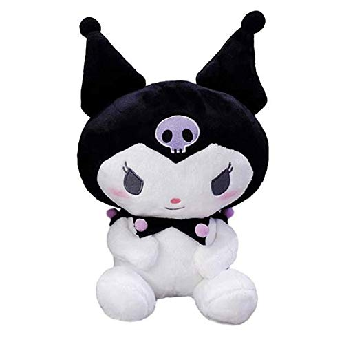 JiYanTang 25cm Kawaii Serie de Dibujos Animados de Juguete de Felpa My Melody Doll Pudding Dog Cinnamoroll Almohada de Juguete Kuromi