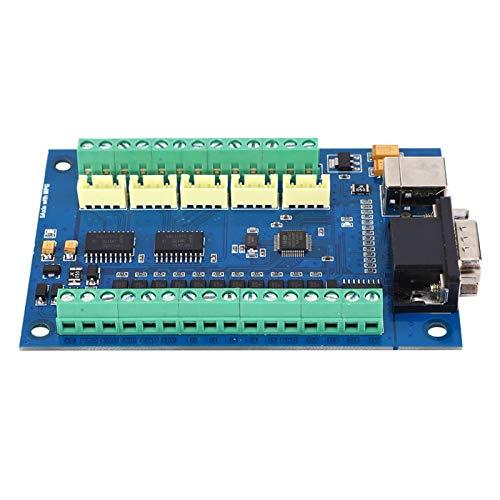 Controlador de movimiento MACH3 USB 5 ejes 100KHz Tarjeta controladora de movimiento Placa de conexión para grabado CNC 12-24V