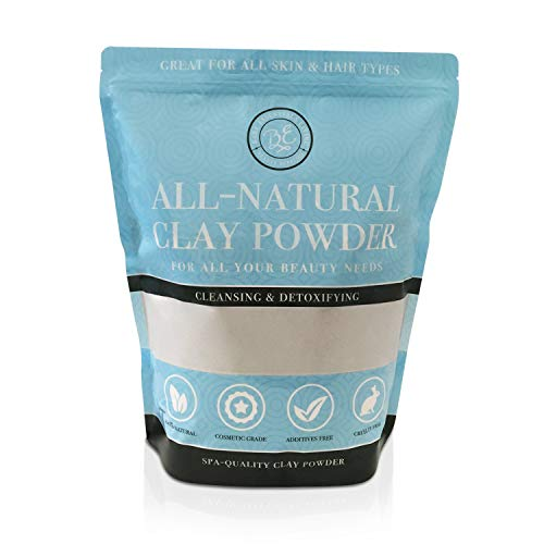 Bentonite Clay Powder Bulk 5lb Pounds- Cosmetic for Face, Hair, Body, Mask, Mud Bath, DIY Soap Making, Deodorant, Indian Healing Clay by Bare Essential Living